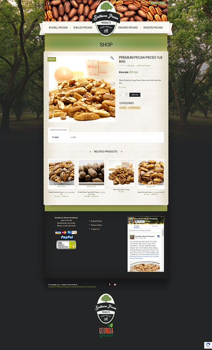 image of southern-pecan-products-ecommerce-website-featured-project-2020-georgia-web-development
