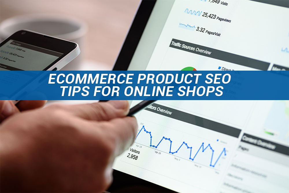 Image-of-online-shop-manager-viewing-shop-performance-analytics-eCommerce-Product-SEO-Tips-For-Online-Shops-georgia-web-development