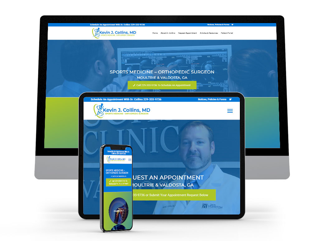 Kevin-J.-Collins,-MD-Website-Design-Website-Development-Georgia-Web-Development-Featured-Project