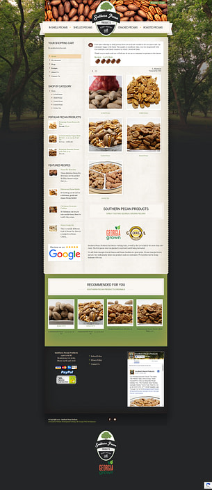 image of southern-pecan-products-ecommerce-website-home-page-featured-project-2020-georgia-web-development