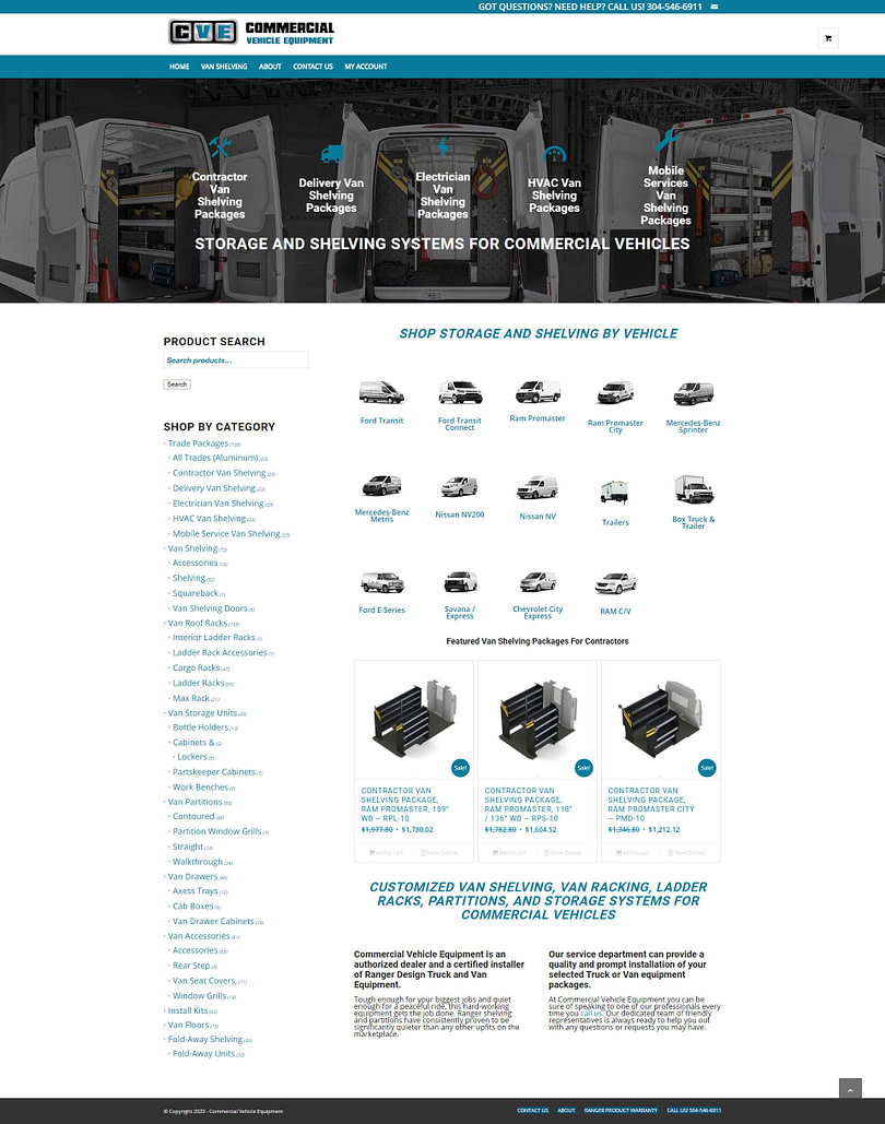 image of commercial-vehicle-equipment-ecommerce-website-featured-project-full-home--page-2020-georgia-web-development